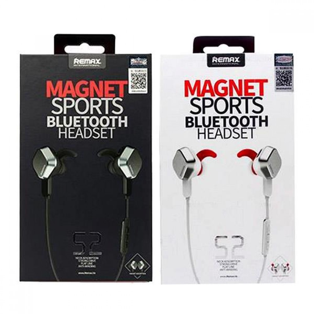 Remax Magnet Sports Bluetooth Headset S2 Wireless V4 1